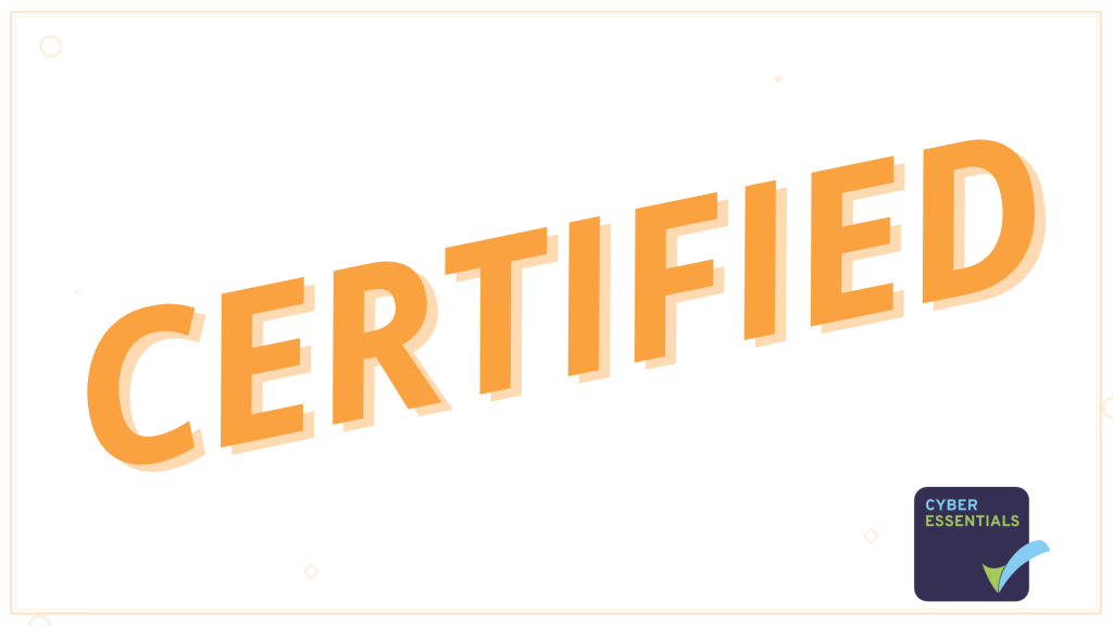 We are certified!