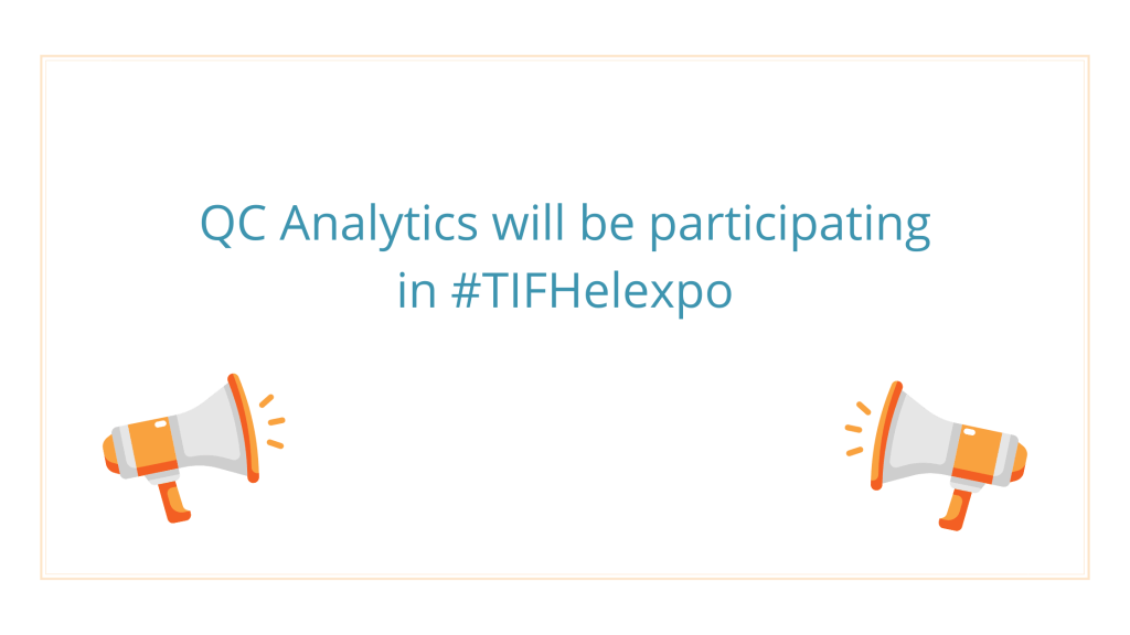 We will be participating in the 85th TIF Helexpo